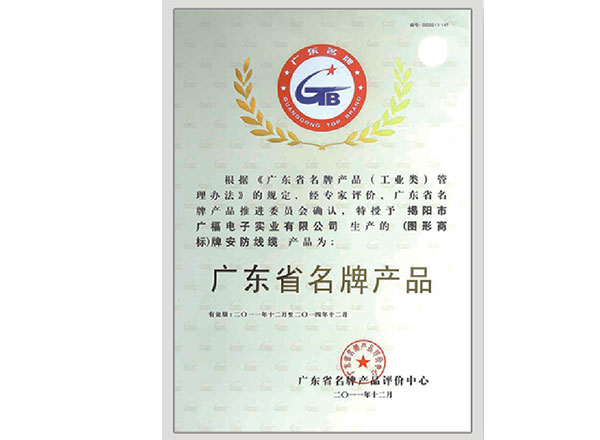 Guangdong Top Brand Product